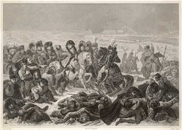 Battle of Eylau - Napoleon defeats the Prussians and Russians