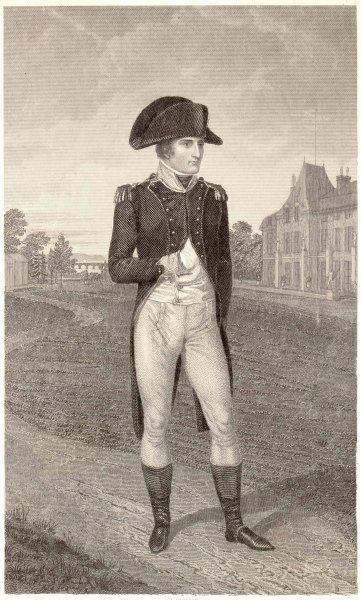 NAPOLEON I as a young officer, circa 1794