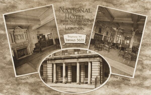 National Hotel, Upper Bedford Place, Russell Square, London