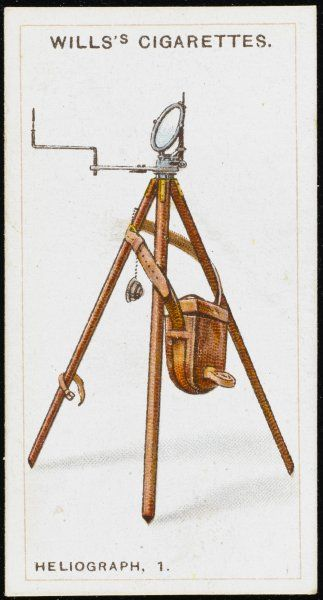 Heliograph used by the Royal Navy