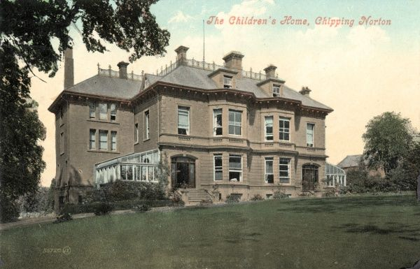 The National Children's Homes home at Chipping Norton in Oxfordshire, opened in 1903 for what were described as 'delicate and affected children&#39