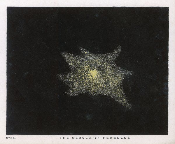 The nebula of the constellation, Hercules