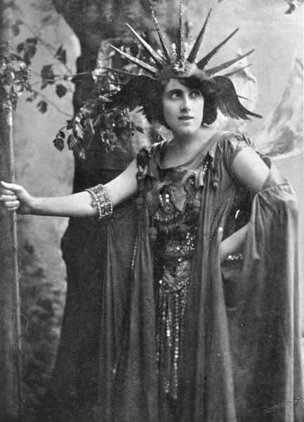 JULIA NEILSON English actress, wife of Fred Terry in the roll of Oberon, in Shakespeare's A Midsummer Night's Dream