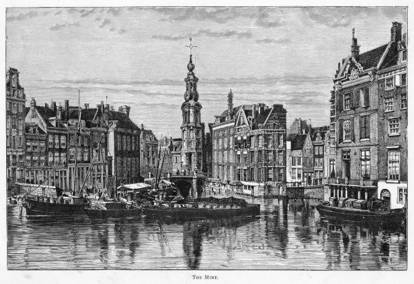 Canal scene at the Mint