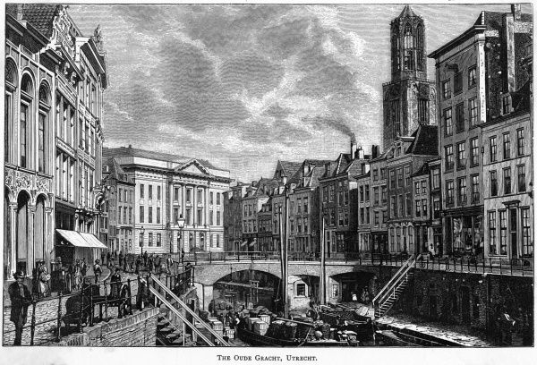 The Oude Gracht (the Old Canal)