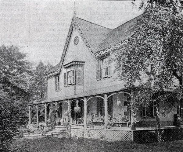 A view of the New Orpington Lodge Receiving Home in Ontario, Canada, run by the Canadian Catholic Emigration Society. The home was a reception centre for poor children from Britain before they began their new lives at locations across Canada