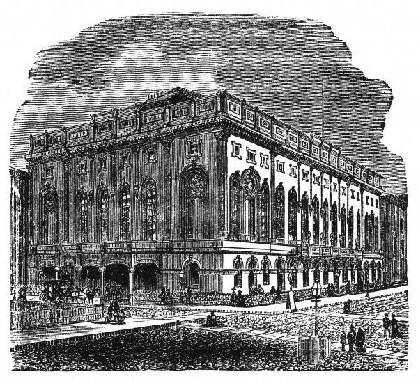The New York Academy of Music, 1872. Date: 1872