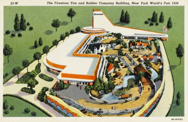 New York World Fair 1939, Firestone Tire and Rubber Company Building
