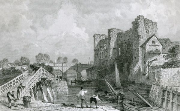 Newark Castle, Nottinghamshire Date: 1836