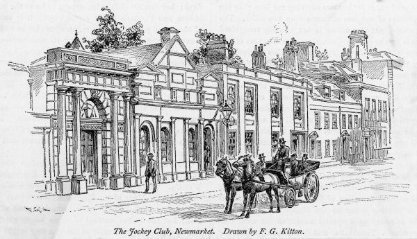 The premises of the Jockey Club at Newmarket, Suffolk
