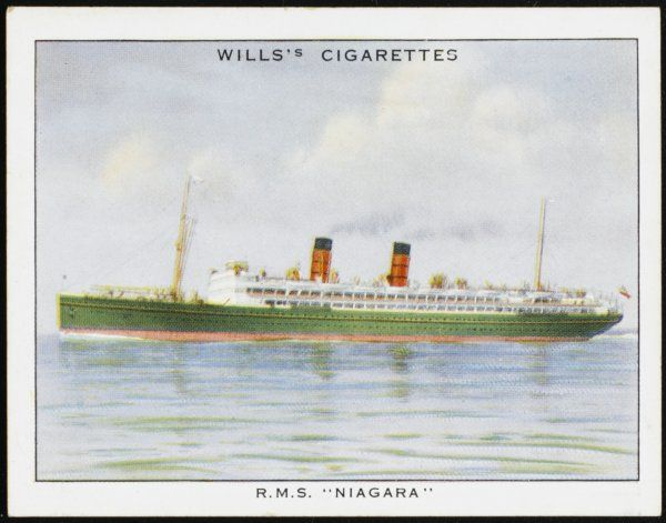 Canadian passenger liner used on the Vancouver to Australia run