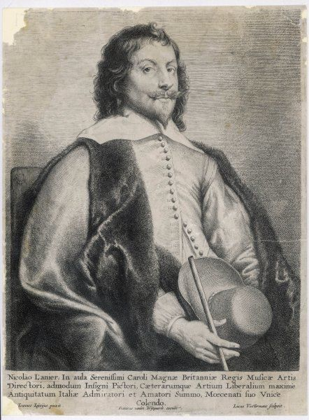 NICOLAS LANIERE (also Lanier/Laneer) English composer, singer and artist