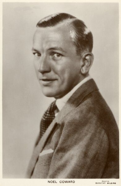 NOEL COWARD Actor, playwright and songwriter