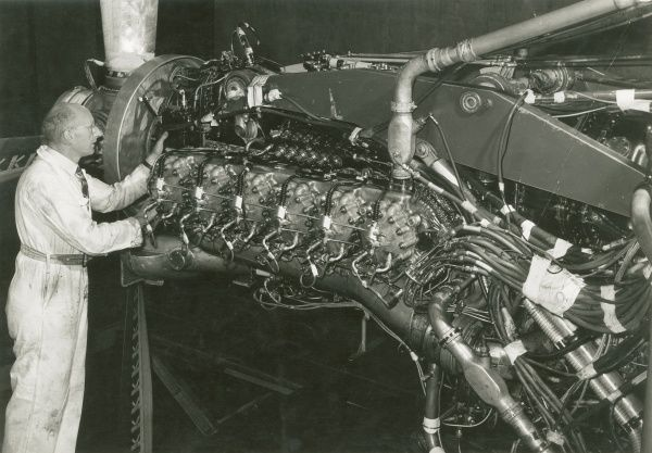 Nomad II engine at the Coronation Road Test Tunnels Date