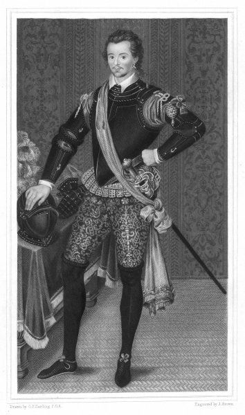SIR ROBERT DUDLEY DUKE OF NORTHUMBERLAND EARL OF WARWICK Engineer, explorer and writer