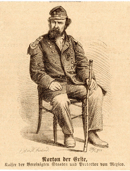 "JOSHUA ""EMPEROR"" NORTON I Claimant to the imperial throne of North America (1859); he made a fortune in real-estate speculation"