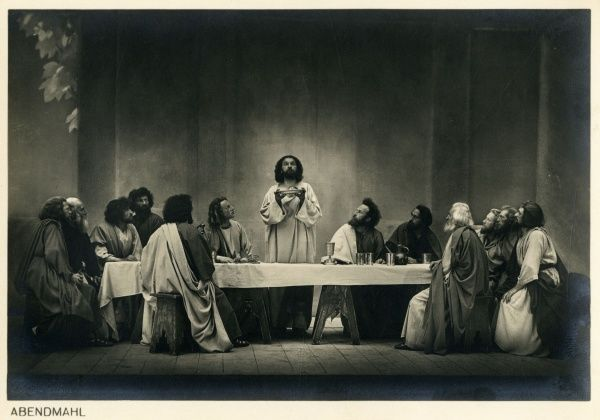 The last supper Date: 1934