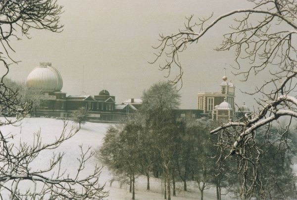 The old Observatory in winter