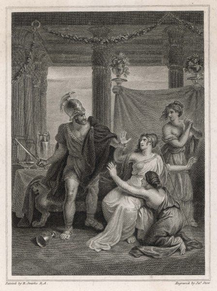 Odysseus and Circe