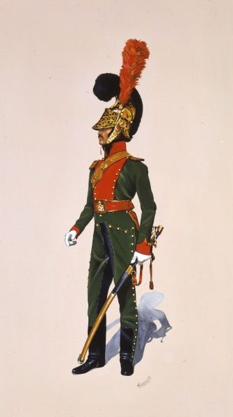 Officer - 1st Regiment Chevaux-Leger Lancers - French officer from the Napoleonic War era