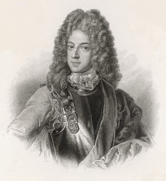 THE OLD PRETENDER James Francis Edward Stuart, father of Charles Edward Stuart (The Young Pretender); The Knight of Saint George