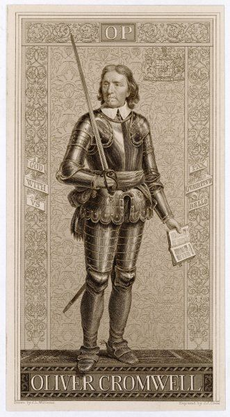 OLIVER CROMWELL soldier, statesman, The Protector