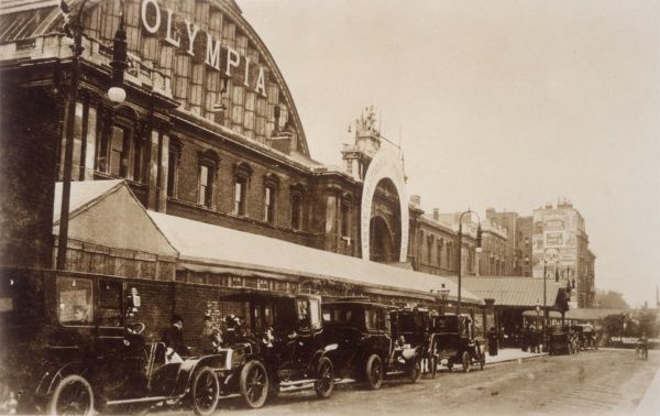 The Exhibition Hall at Olympia, London