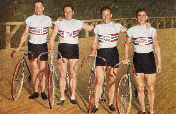 Cycling: British team, placed 3rd: Holland, Southall, Harwell and Johnson