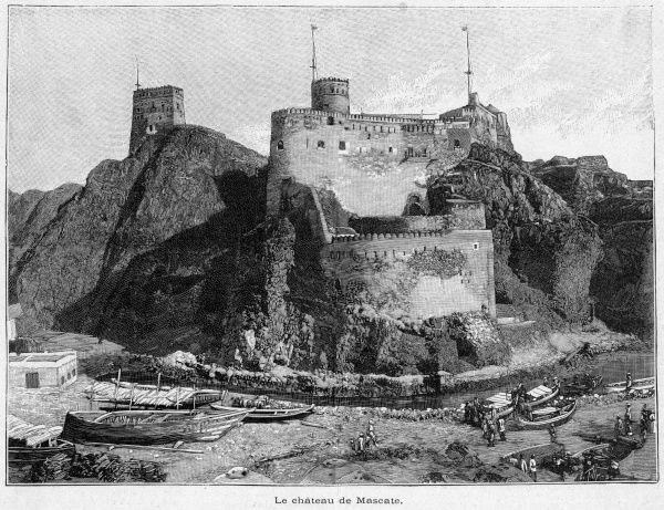 The fortress at Masqat