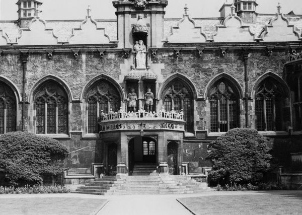 part of Oriel College, Oxford Date: 1953