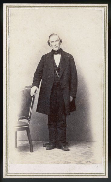 ORSON PRATT Mormon leader, photographed in June 1866