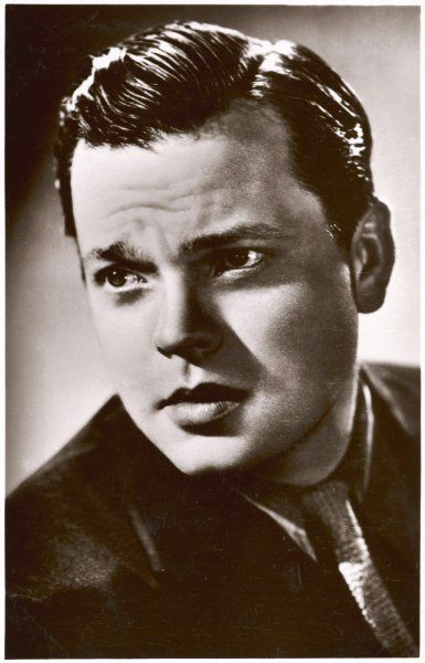 ORSON WELLES American film actor, producer and director