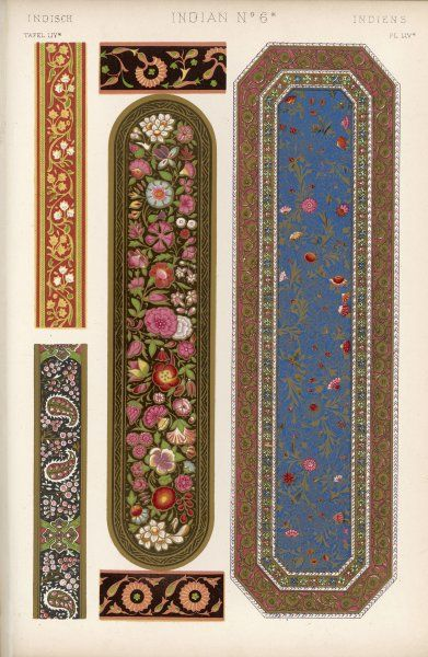 Specimens of painted lacquer work from the collection at the India House
