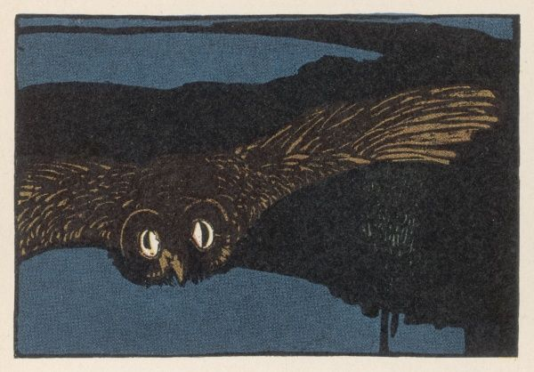 Opening illustration to the story of the Owl