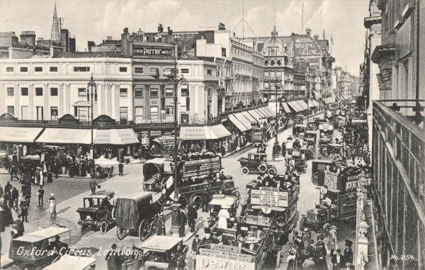 Oxford Circus, London, England, c.1910