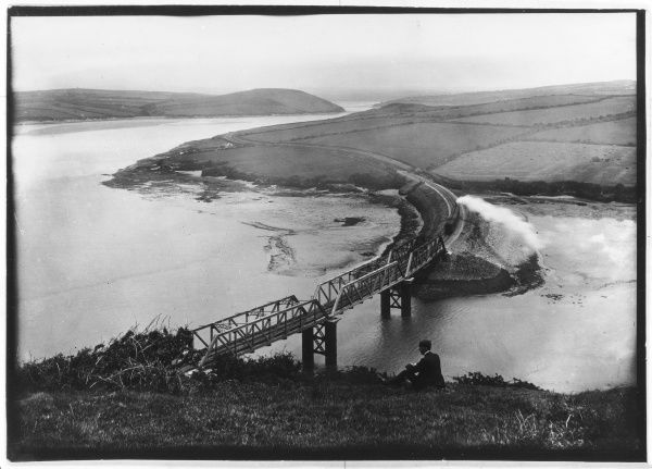 Railway Bridge, Padstow, Cornwall