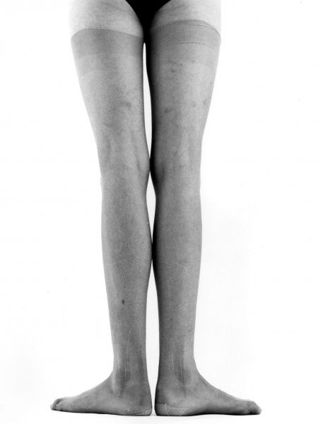 A pair of legs. Date: late 1960s