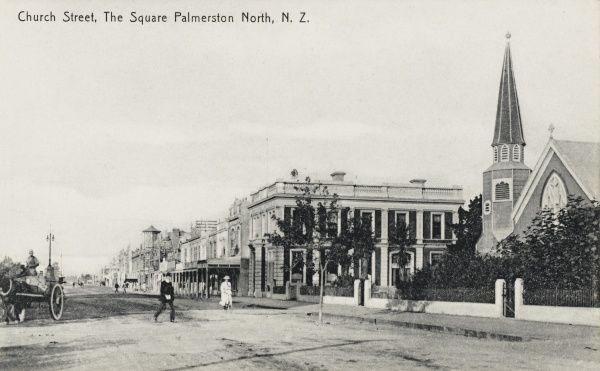 Church Street and The Square, Palmerston North, New Zealand