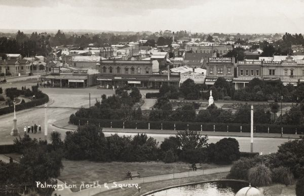 Palmerston North and Square, New Zealand