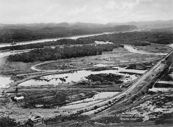 Location for permanent docks at Balboa, Panama Canal