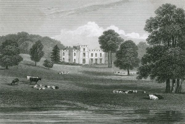 Panshanger, Hertfordshire, the seat of Earl Cowper Date: circa 1830