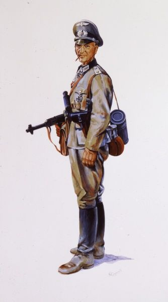 Panzer Grenadier - German Officer (1936 - 1945)