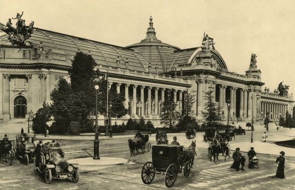 An important exhibition hall, with a permanent collection. Date: circa 1904