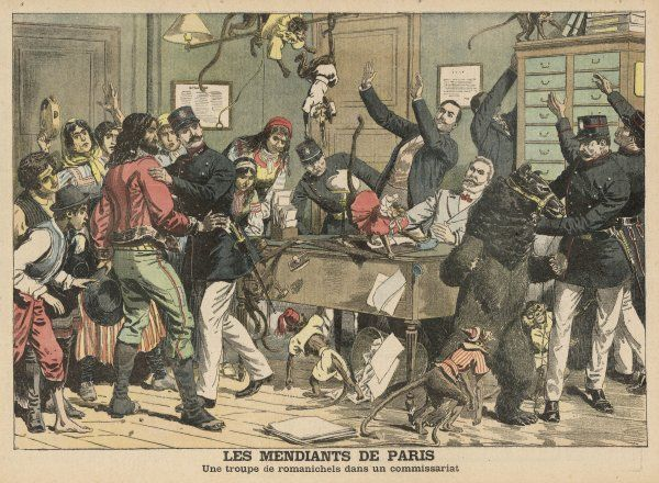 The Paris police arrest a group of gypsey street entertainers and quickly regret their action as chaos ensues
