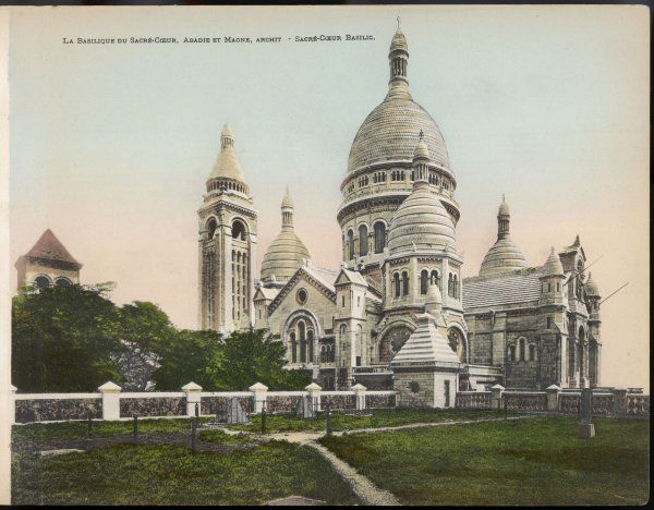 Church of Sacre Coeur, designed by architects Abadie and Magne