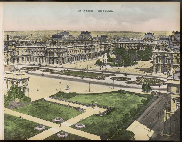 Tuileries Gardens and Palace