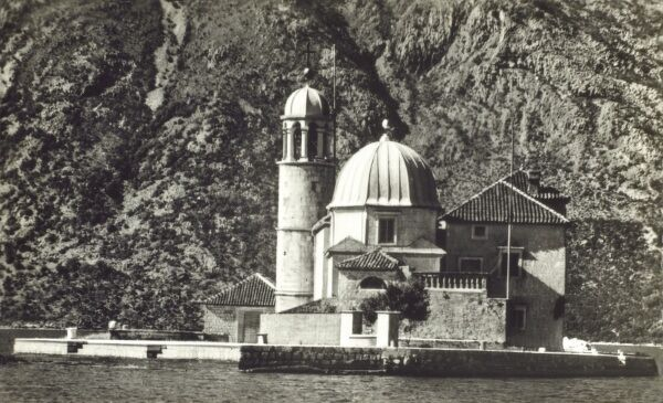 Our Lady of the Rocks (Gospa od Skrpjela) - off Perast (Montenegrin town in the 'Boka Kotorska' (Bay of Kotor). One of two islets (the other being Sveti Dorde Island) created by bulwark of rocks and by sinking old and seized ships loaded with rocks