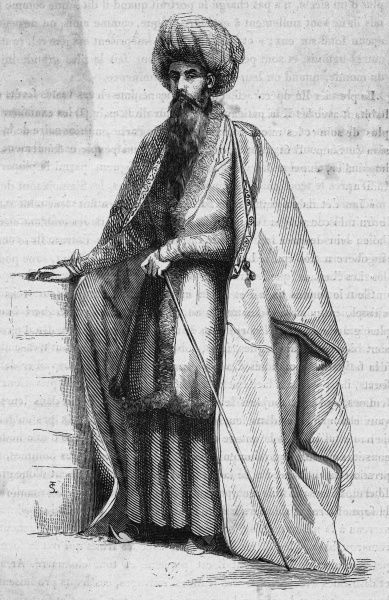 A Persian mollah, or priest