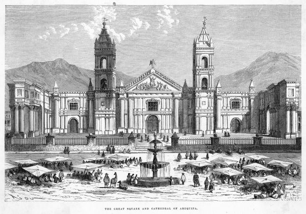 Plaza Grande and cathedral
