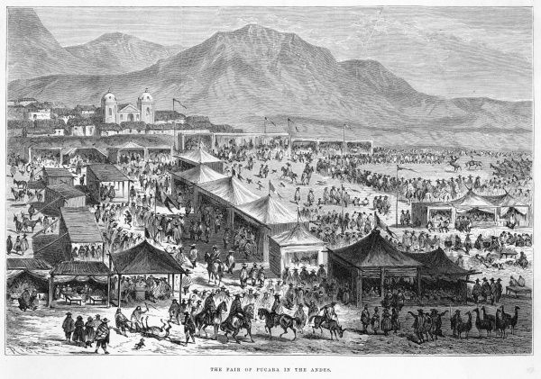 Fair at Pucara, in the Andes